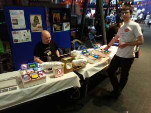 York Hackspace at MakerFaire UK 2014