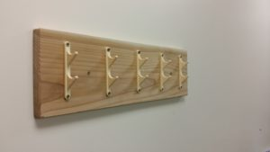 Finished Coat Hooks