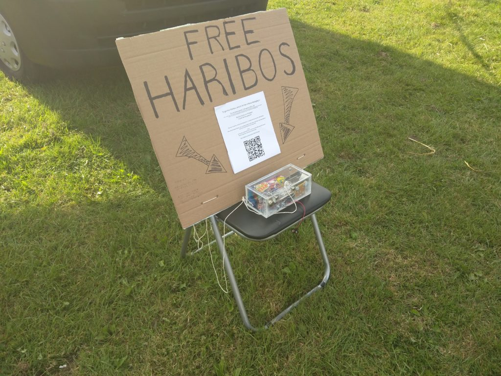 The free haribo box