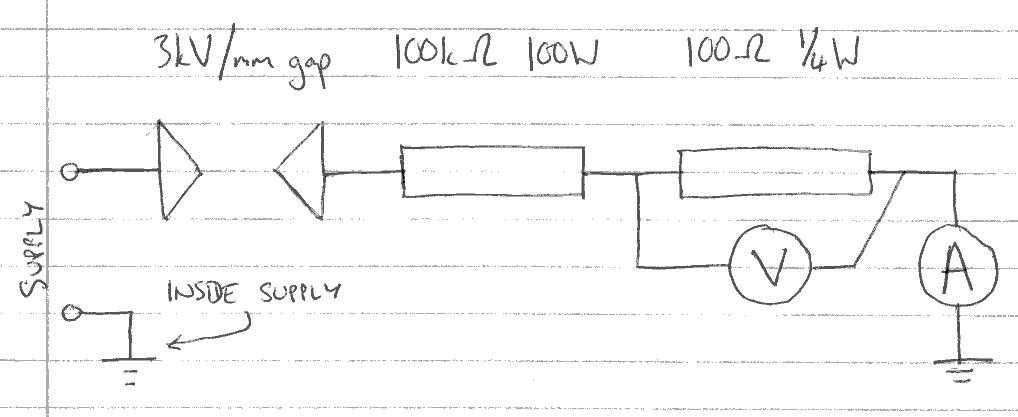 Laser Supply Tester - Circuit Schematic