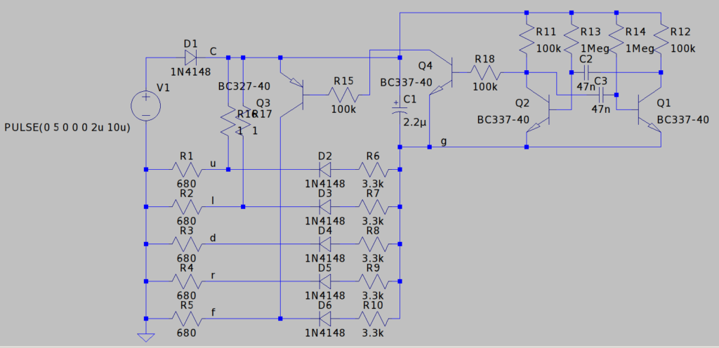 Autofire circuit schematic